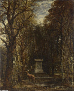 John Constable - Cenotaph to the Memory of Sir Joshua Reynolds
