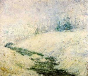 John Henry Twachtman - Winter Scene