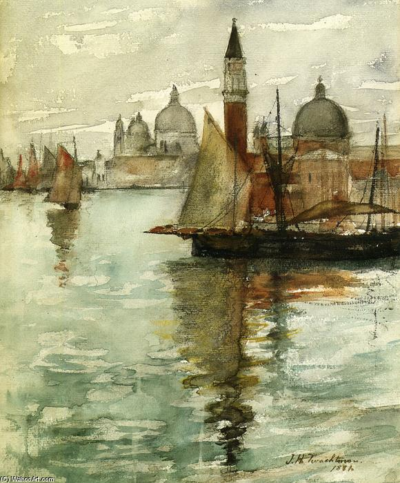 famous painting Venice of John Henry Twachtman