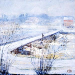 John Henry Twachtman - Winter