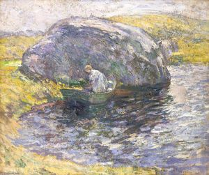 John Henry Twachtman - A Summer Day