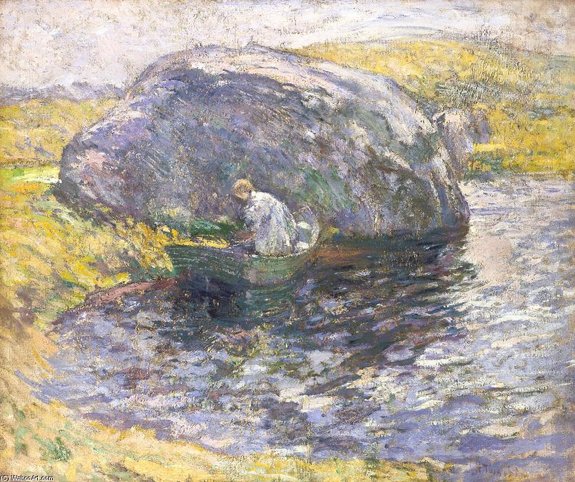 famous painting A Summer Day of John Henry Twachtman