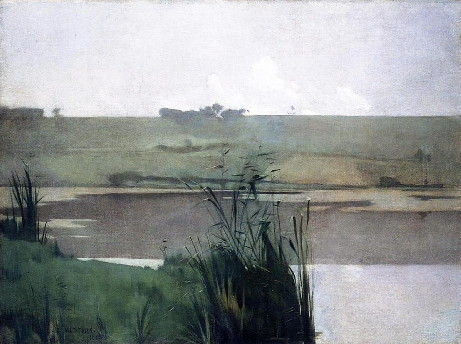 famous painting Arques Battle of John Henry Twachtman
