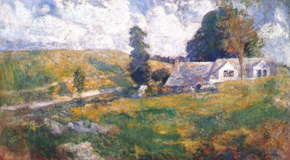 famous painting Summer Late of John Henry Twachtman