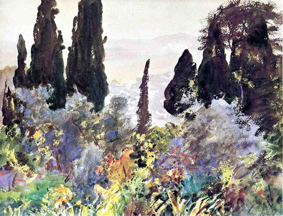 famous painting Granada of John Singer Sargent