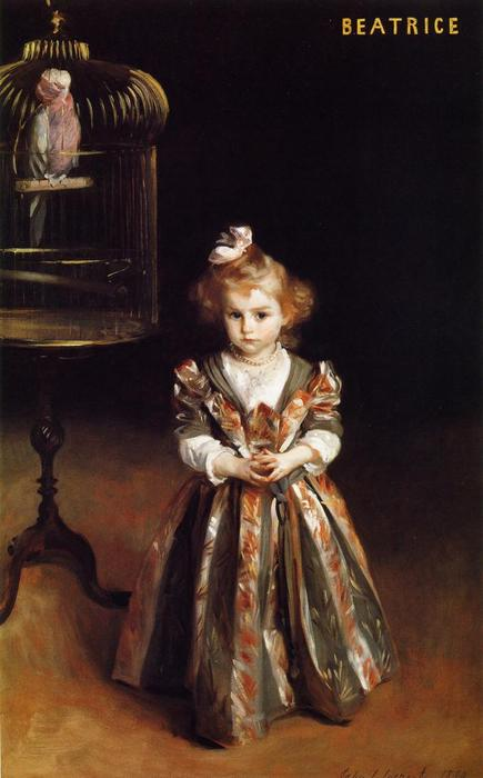 famous painting Beatriice Goelet of John Singer Sargent