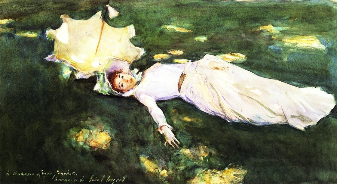 famous painting Madame Roger Jourdain of John Singer Sargent