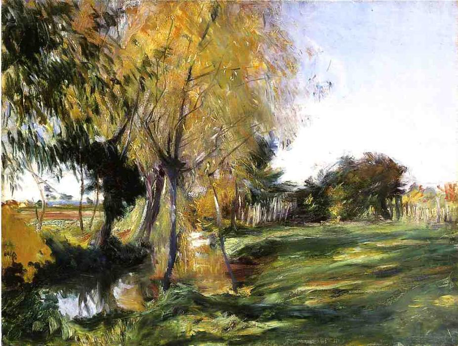 famous painting Landscape at Broadway of John Singer Sargent