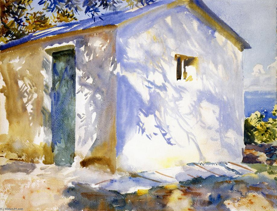 famous painting Corfu: Lights and Shadows of John Singer Sargent