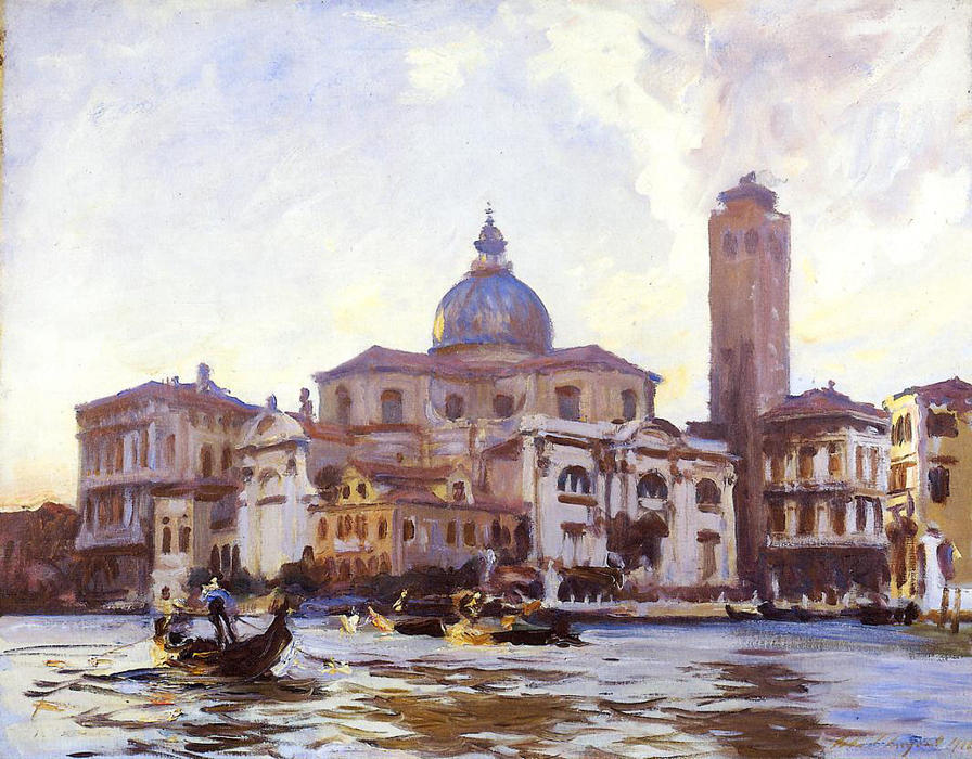 famous painting Palazzo Labia, Venice of John Singer Sargent