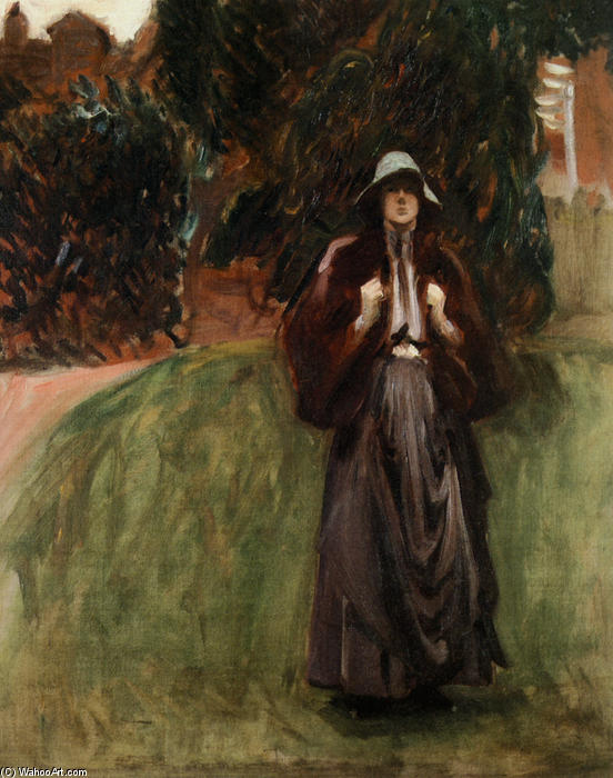 famous painting Portrait of Miss Clementine Anstruther-Thomson of John Singer Sargent