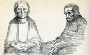Kathe Kollwitz - The Parents