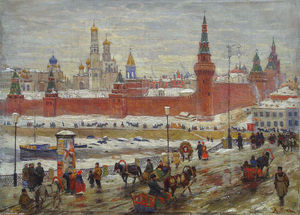 Konstantin Yuon - The Old Moscow