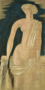 Konstantinos Parthenis - Figure from Greek Antiquity (diptych)