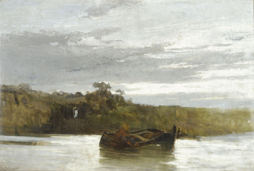 famous painting The river of Konstantinos Volanakis