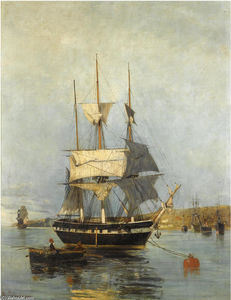 Konstantinos Volanakis - Greek ship