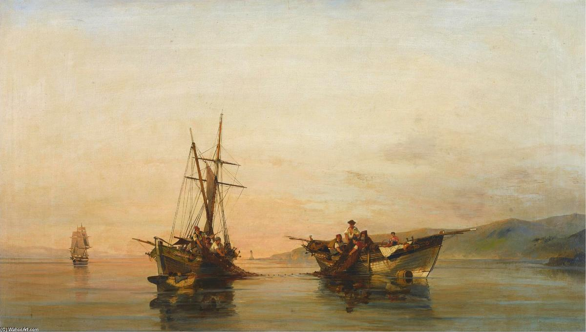 famous painting On calm waters of Konstantinos Volanakis