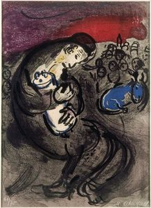Marc Chagall - Weeping of Jeremiah