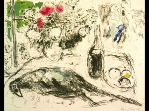 Marc Chagall - The Pheasant