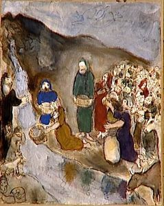 Marc Chagall - Moses and the Striking Rock