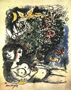 Marc Chagall - Eve