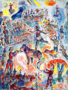 Marc Chagall - Great Circus
