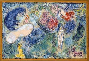 Marc Chagall - Paradise (15)