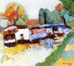 Marcel Duchamp - Laundry Barge