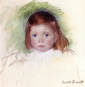 Mary Stevenson Cassatt - Portrait of Ellen Mary Cassatt