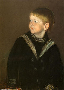 Mary Stevenson Cassatt - The Sailor Boy Gardener Cassatt