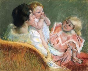 Mary Stevenson Cassatt - Mother and Children