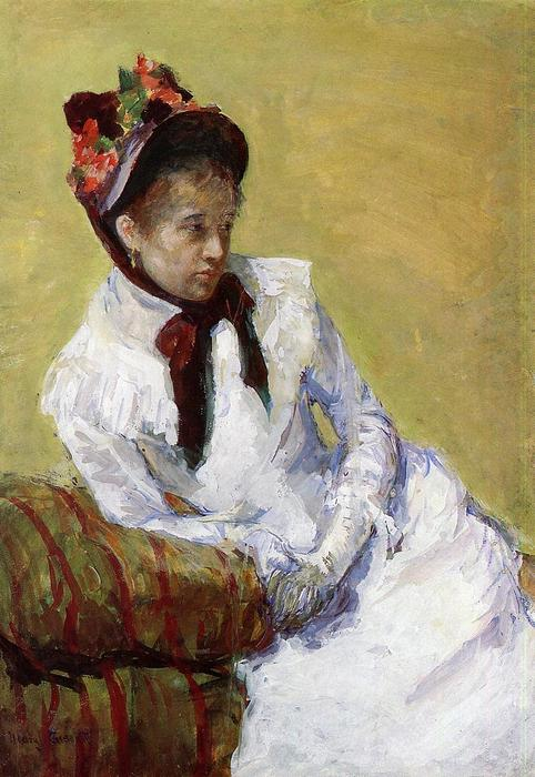 famous painting Portrait Of The Artist of Mary Stevenson Cassatt