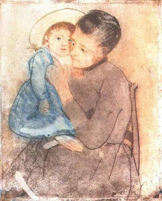 famous painting Baby Bill of Mary Stevenson Cassatt