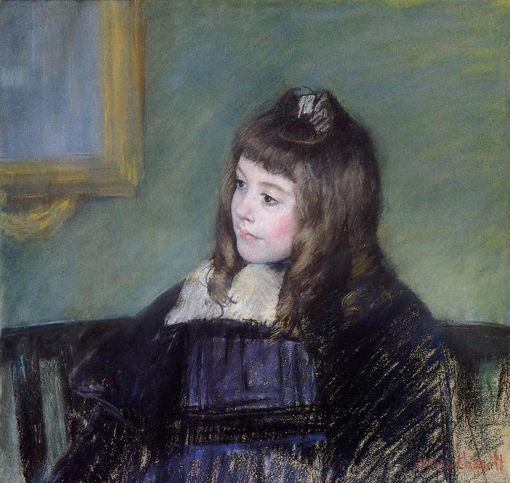 famous painting Marie Therese Gaillard of Mary Stevenson Cassatt