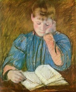 Mary Stevenson Cassatt - The Pensive Reader