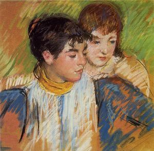 Mary Stevenson Cassatt - The Two Sisters