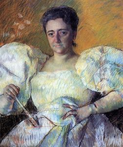 Mary Stevenson Cassatt - Portrait of Mrs. H. O. Hevemeyer