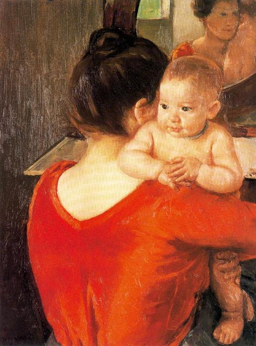 famous painting Mother and Child (9) of Mary Stevenson Cassatt