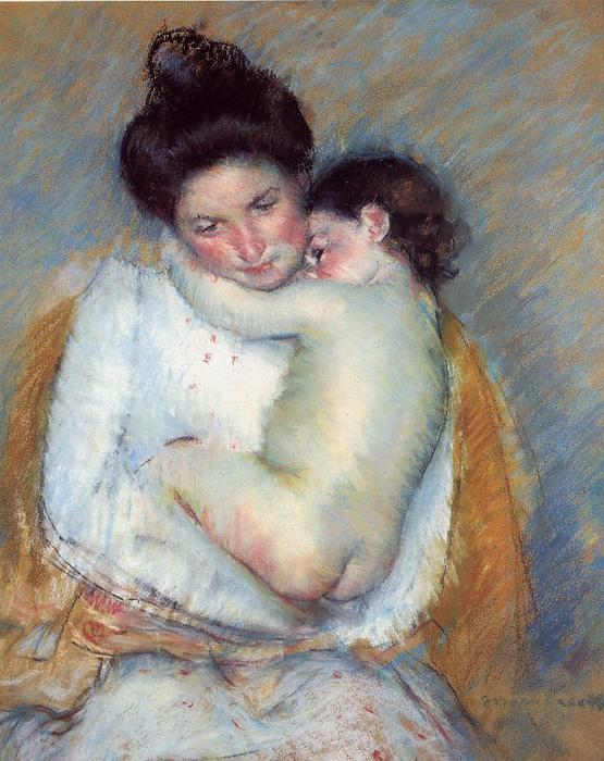 famous painting Mother and Child (11) of Mary Stevenson Cassatt
