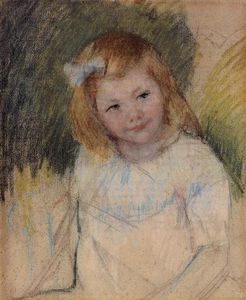 Mary Stevenson Cassatt - Sara Looking towards the Right