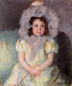 Mary Stevenson Cassatt - Margot in White