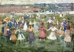 Maurice Brazil Prendergast - May Day