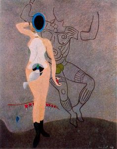 Max Ernst - The Return of the Beautiful Gardener (Homage to women)