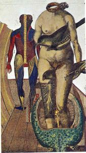 Max Ernst - The Word (Woman Bird)