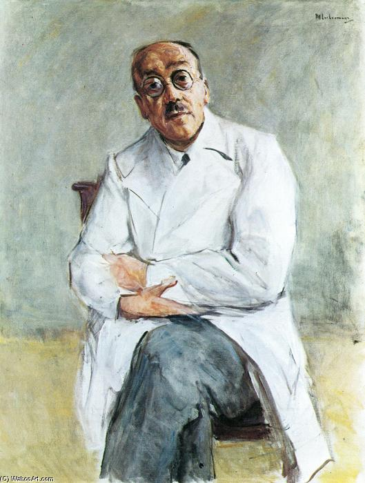 famous painting The Surgeon, Ferdinand Sauerbruch of Max Liebermann