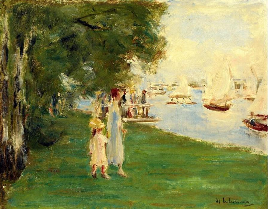 famous painting The Yacht Race of Max Liebermann