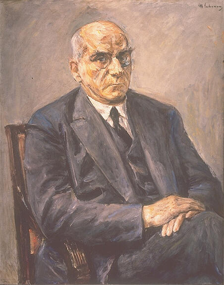 famous painting Portrait of Otto Braun of Max Liebermann