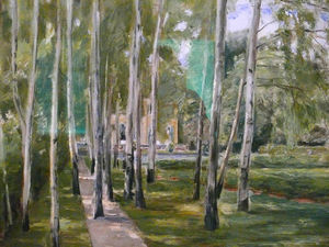 Max Liebermann - Birch grow