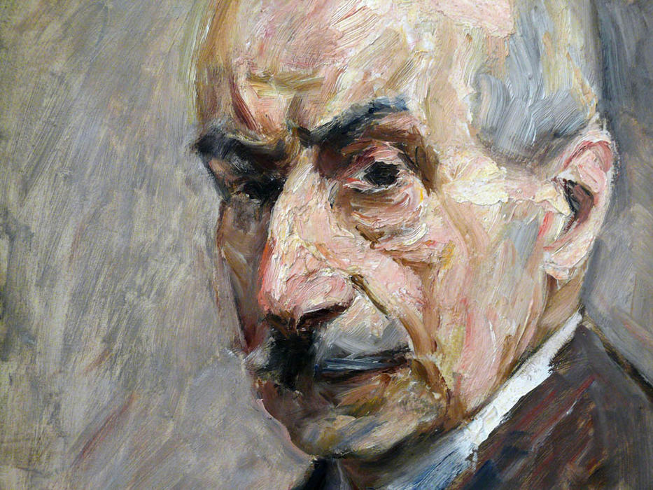 famous painting Self-portrait of Max Liebermann