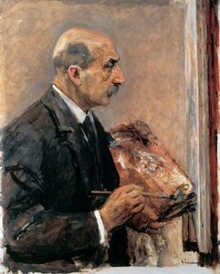 Max Liebermann - Self-Portrait with Palette
